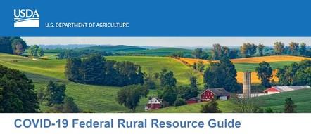 COVID-19 Federal Rural Resource Guide