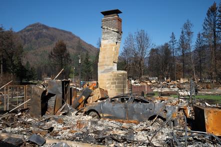 Detroit suffered devastating damage during the 2020 Oregon wildfires