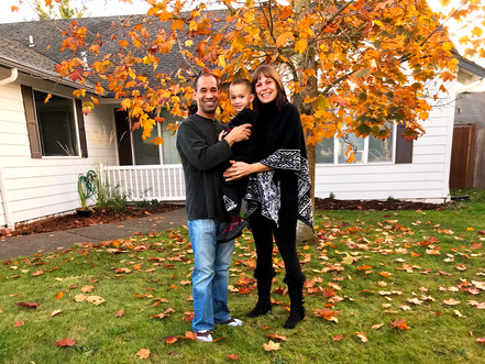 The Weise family purchased their rural Oregon home with the help of USDA