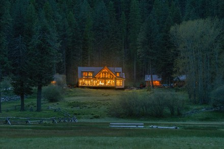 Minam River Lodge installed solar panels with hep from a USDA grant
