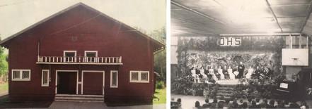 Historic photos of the Dayville community hall