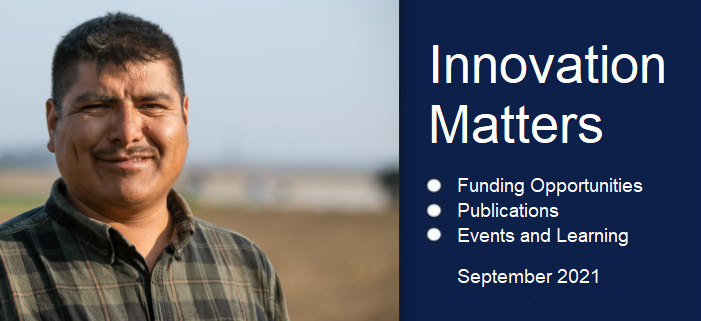 Innovation Matters - September 2021