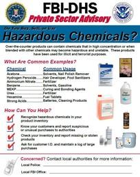 Haz Chem Poster
