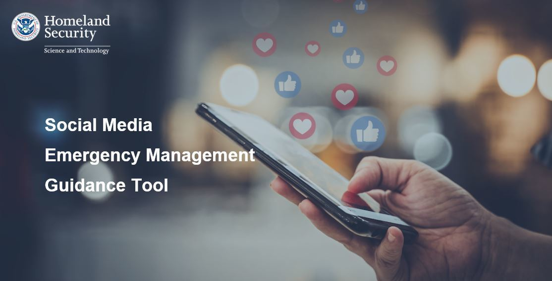 Social Media Emergency Management Guidance Tool