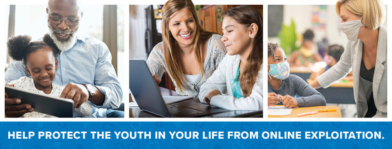 Help protect the youth in your life from online exploitation.