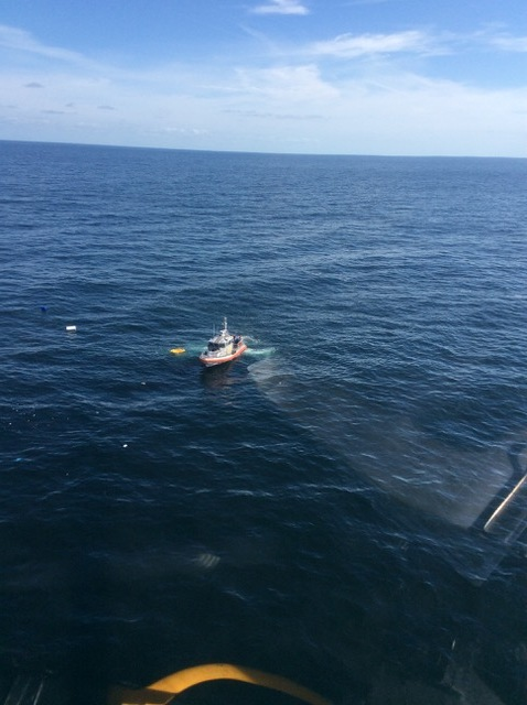 Coast Guard rescues 3 boaters 30 miles southeast of Port Royal Sound