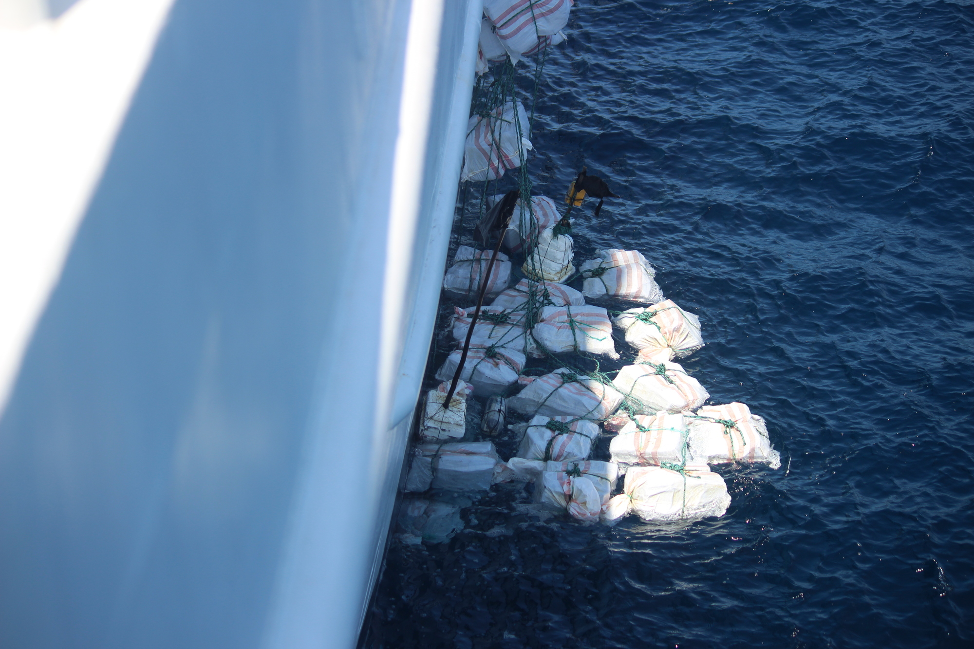 Coast Guard Cutter Valiant Contraband