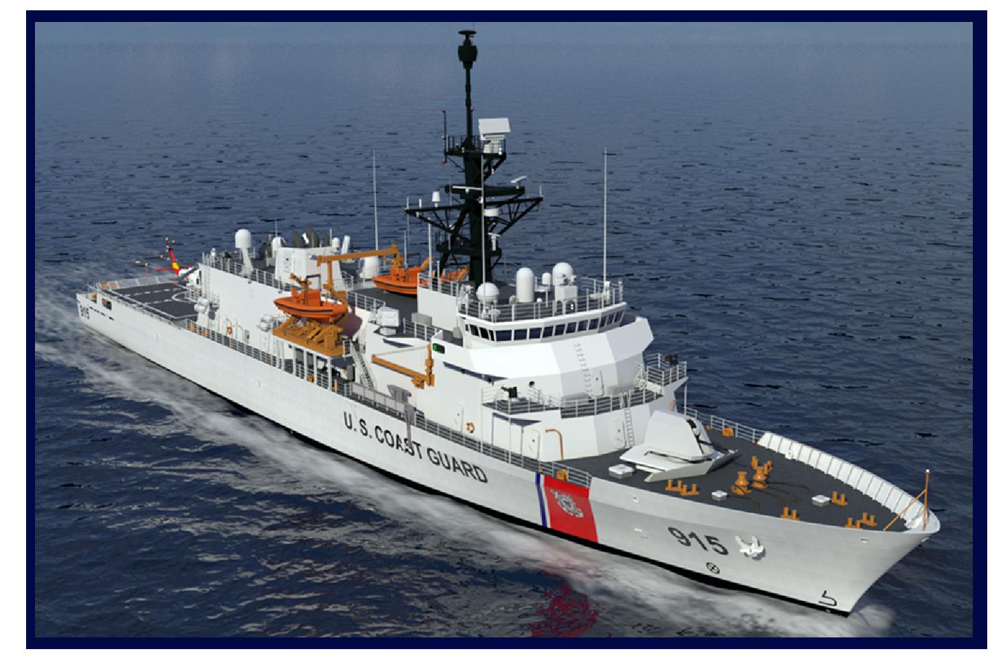 US Coast Guard announces offshore patrol cutter names