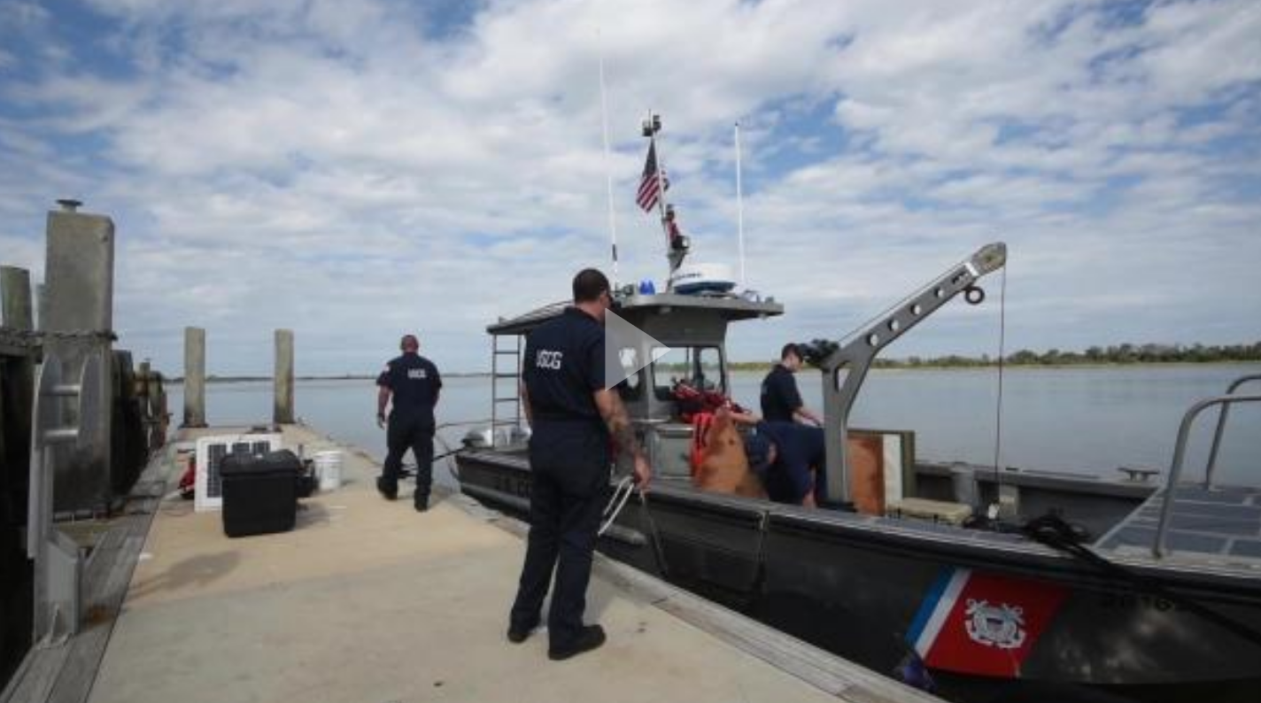 Coast Guard Aids to Navigation Team Tybee re-construct Port of Savannah after Hurricane Irma
