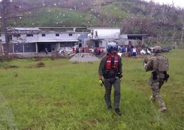 Coast Guard delivers aid to Orocovis, Puerto Rico