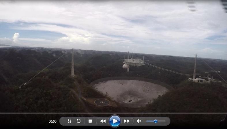 Coast Guard delivers FEMA food, water to Arecibo Observatory in Arecibo, Puerto Rico