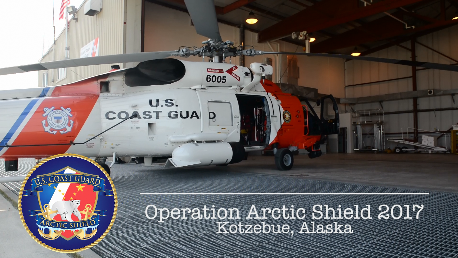 Arctic Shield video