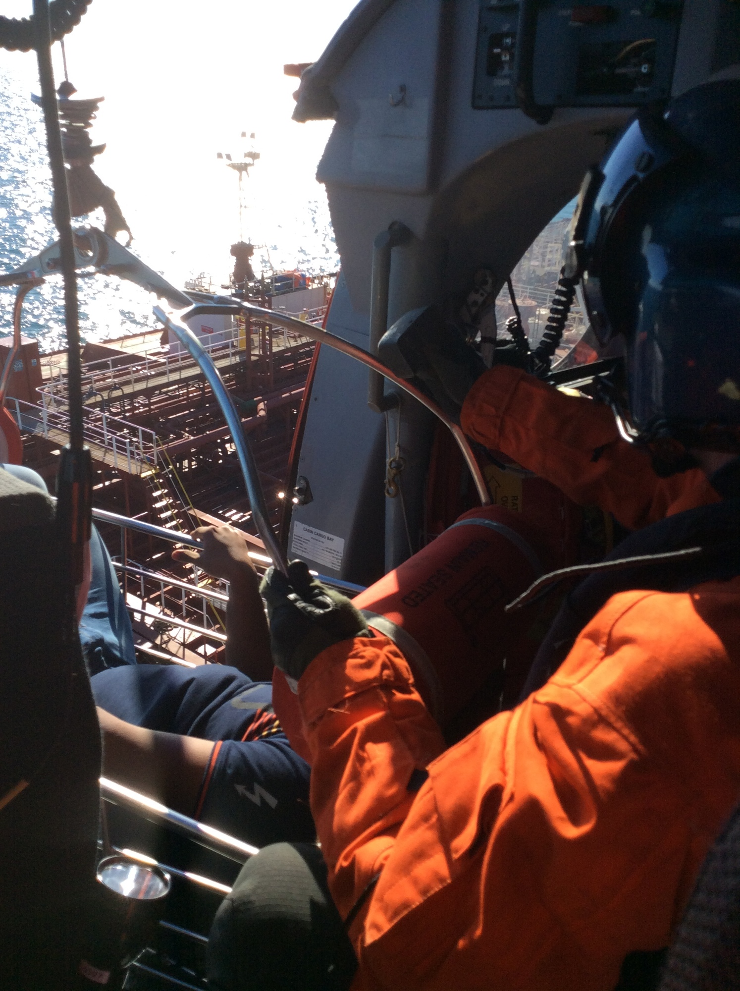 Coast Guard medevacs man from oil tanker off Galveston, Texas