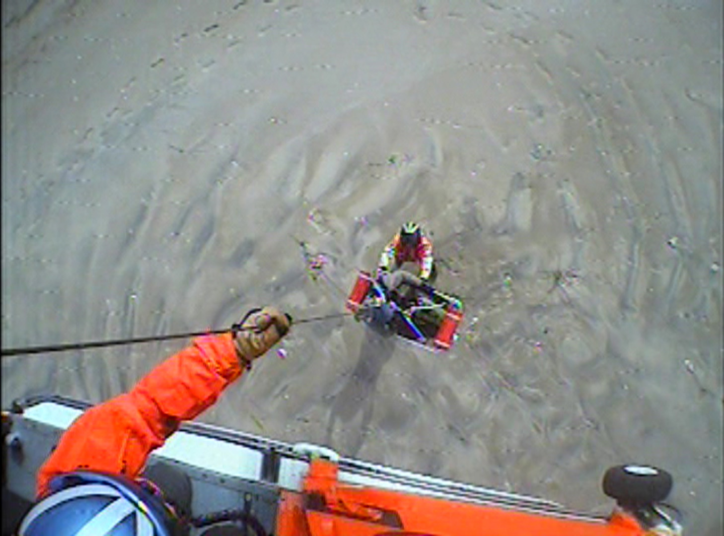 Coast Guard rescues 2 canoers