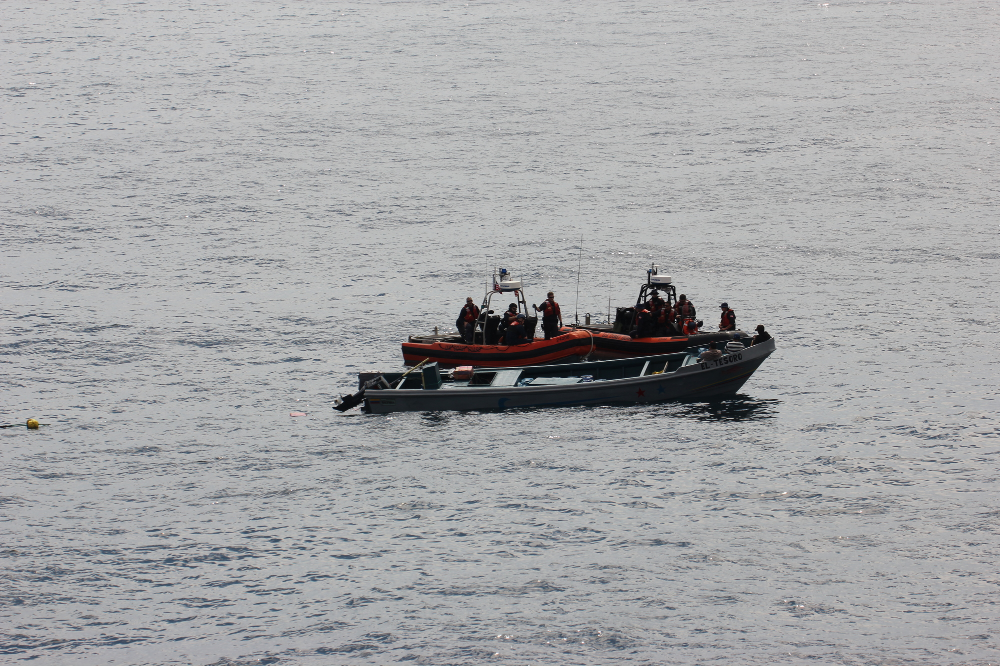 Coast Guard Cutter Steadfast intercepts suspected drug smuggling vessel
