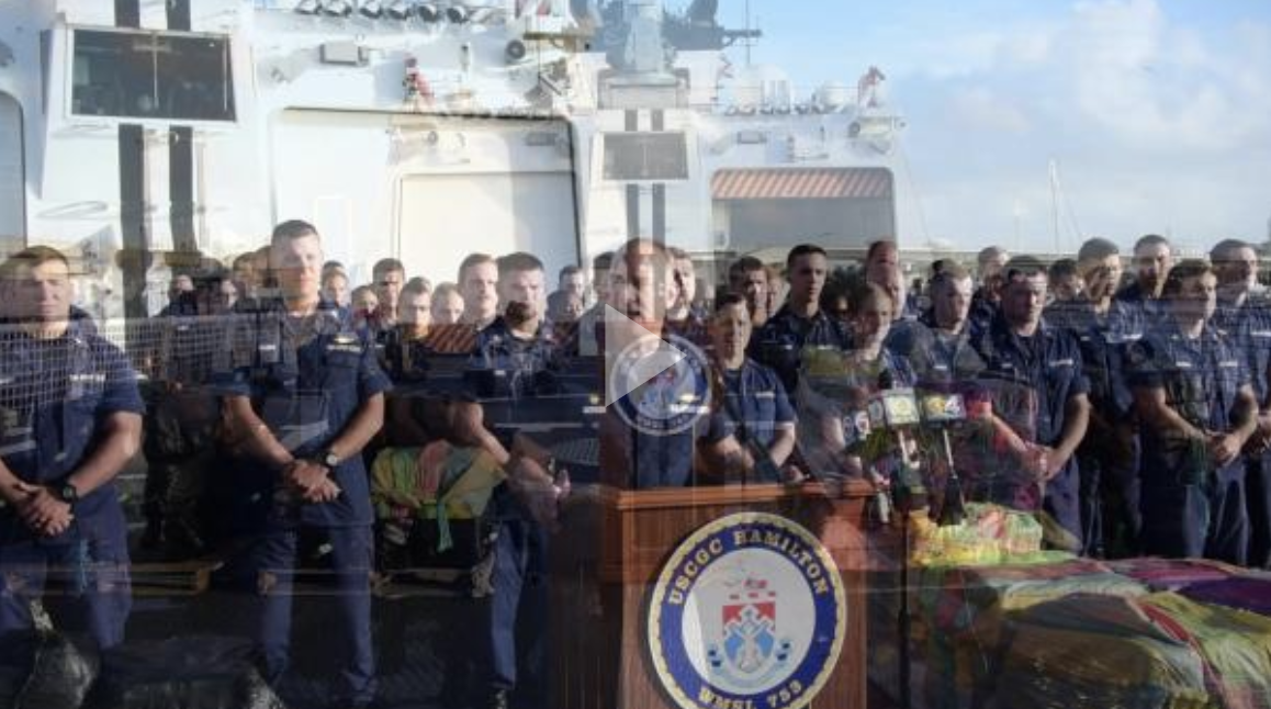 Coast Guard offloads 14,000 pounds of cocaine in Port Everglades