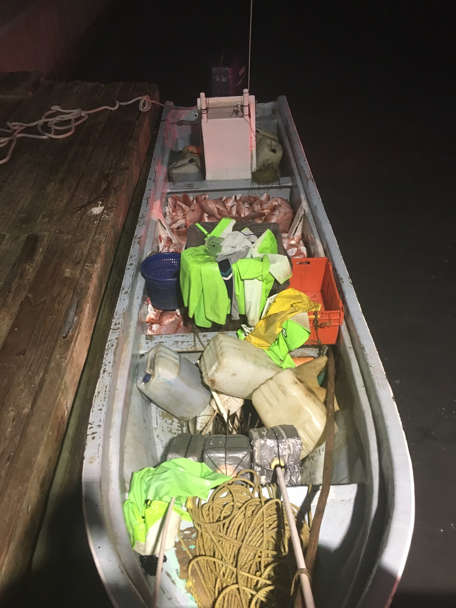 Coast Guard interdicts lancha crew illegally fishing US waters