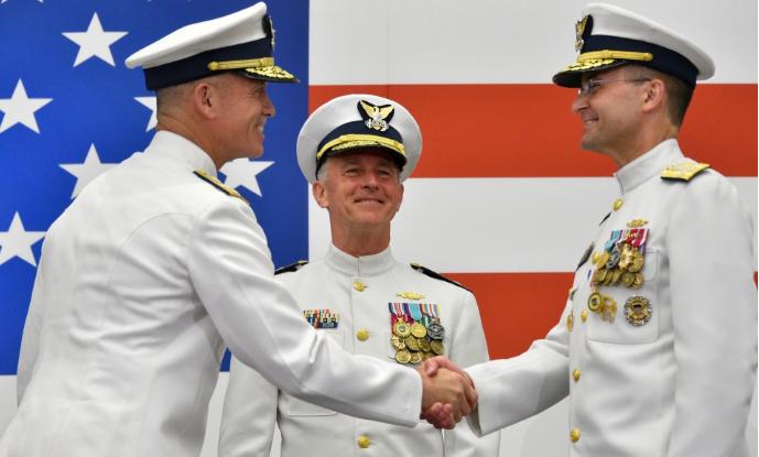 PHOTO RELEASE: US Coast Guard welcomes new vice commandant