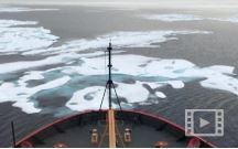 Link to video of 2017 Healy Arctic icebreaking operations