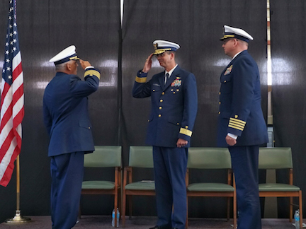 Coast Guard Cutter Polar Star changes command