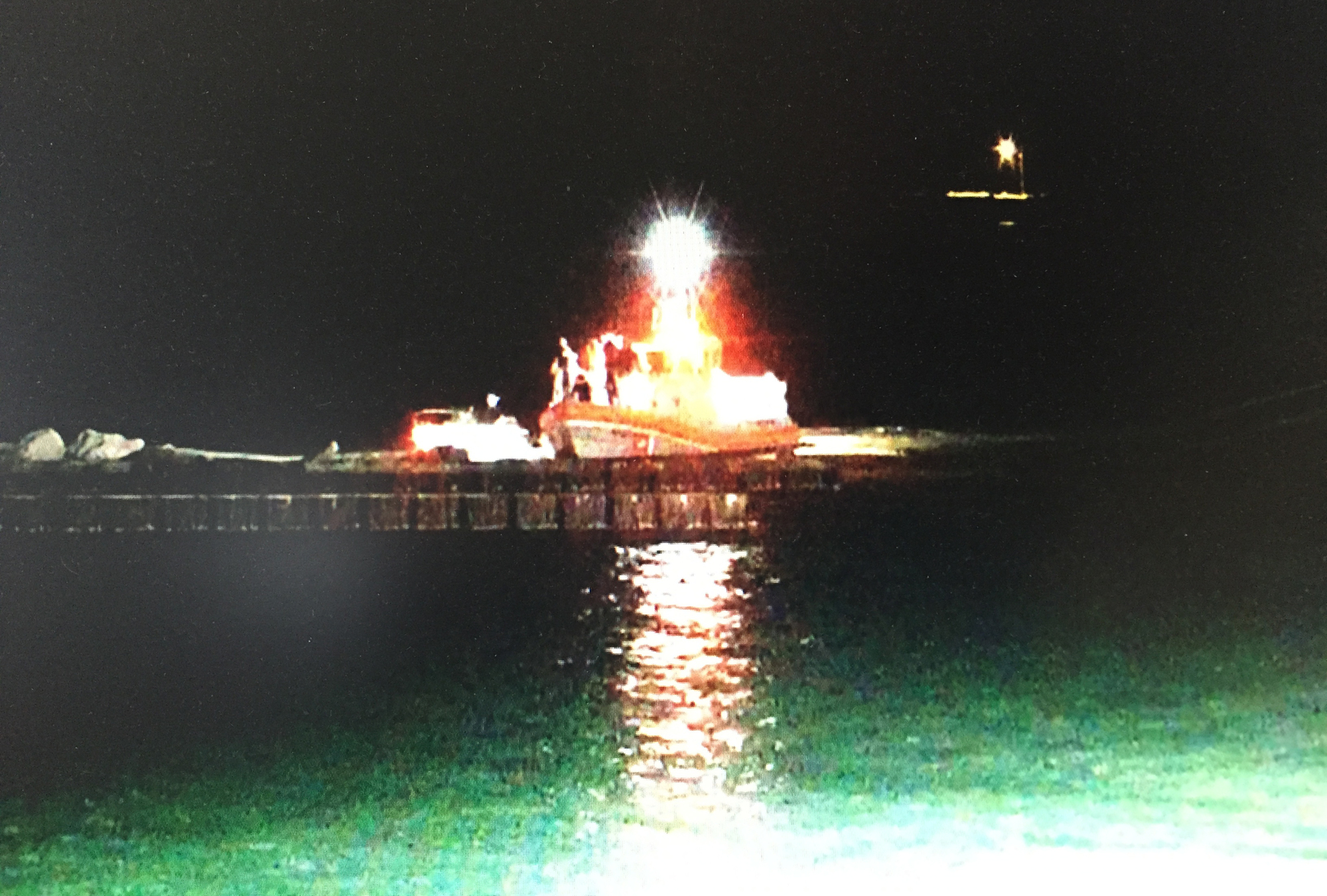 Coast Guard assists four mariners from vessel taking on water near Freeport, Texas