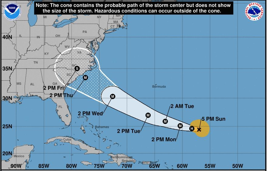 CORRECTION: Coast Guard to hold Hurricane Florence press briefing in Charleston