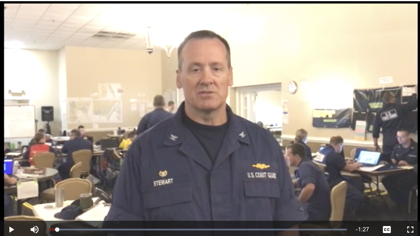 Coast Guard incident commander discusses North Carolina response to Florence