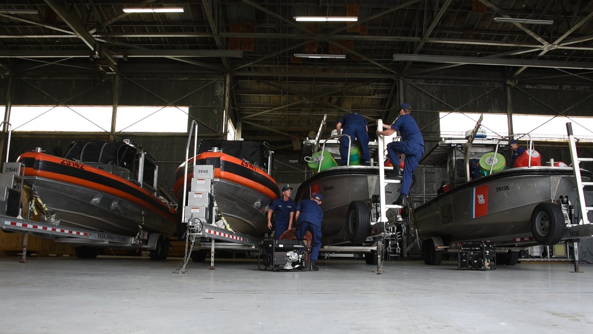 Coast Guard pre-stages assets for Hurricane Florence post-storm response