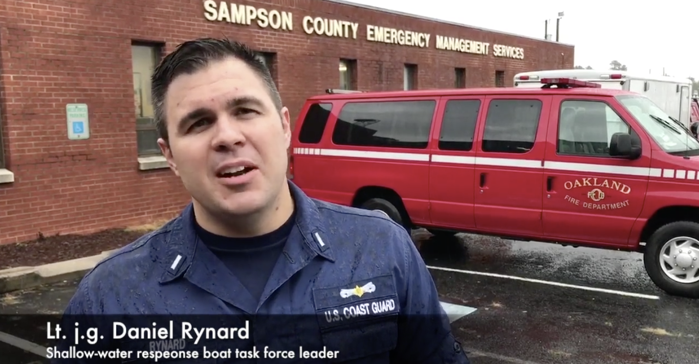 VIDEO RELEASE: Coast Guard discusses coordination of shallow-water response boats and public safety in North Carolina