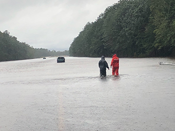 Coast Guard assist stranded motorist