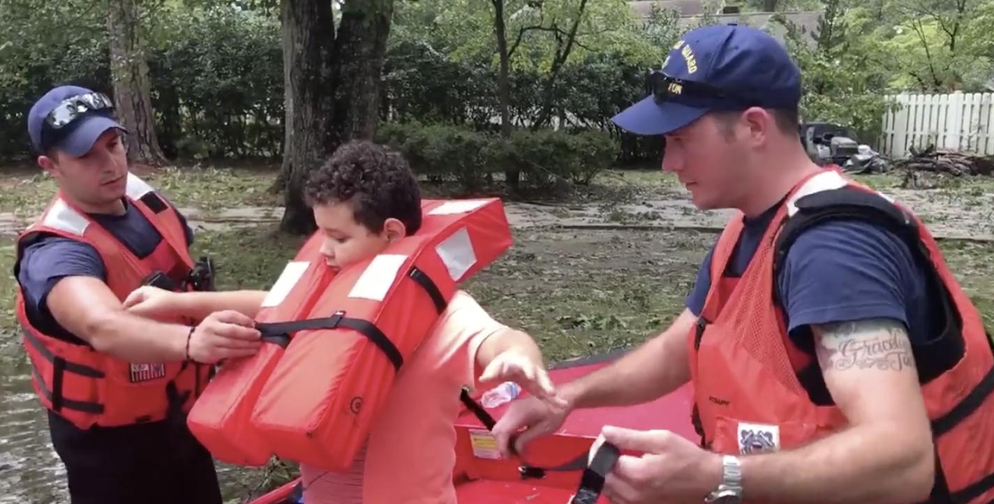 Video Release: Coast Guard, partner agencies rescue people stranded by flooding in Lumberton, N.C.