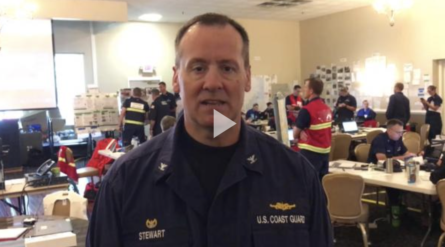 VIDEO RELEASE: Coast Guard's North Carolina incident commander updates post- hurricane response efforts, port openings