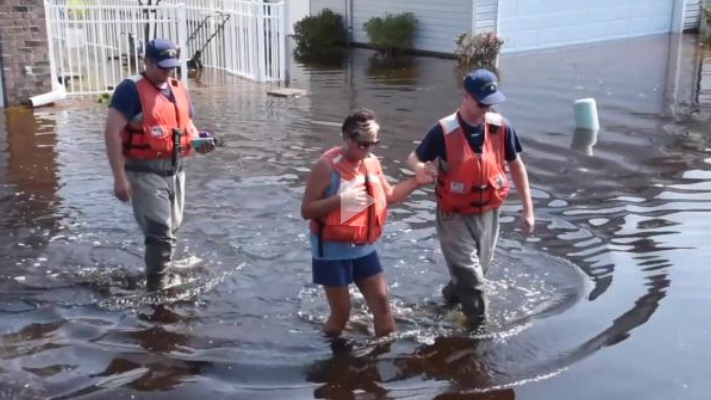 Coast Guard crews conduct post Hurricane Florence operations in South Carolina