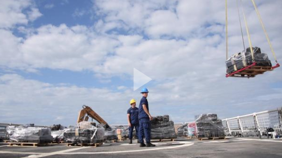 Coast Guard Cutter Stratton offloads 11 tons of cocaine in San Diego