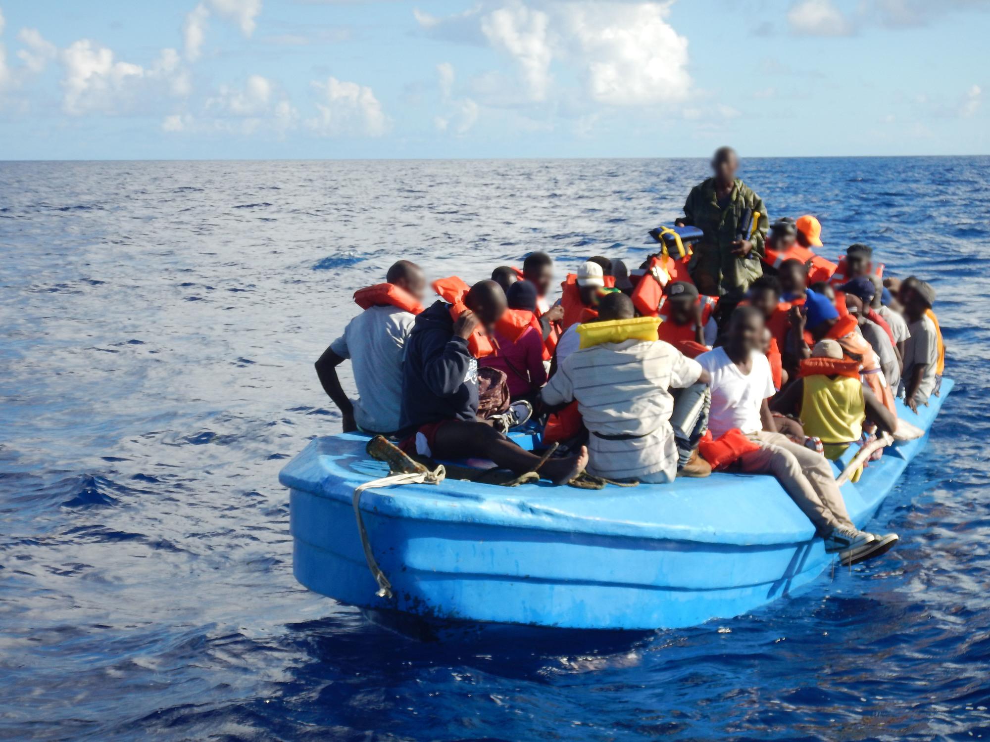 Coast Guard repatriates 84 Haitian migrants
