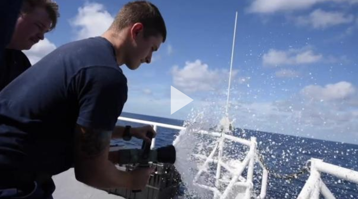 A Day in the Life of the Coast Guard Cutter Paul Clark Crew