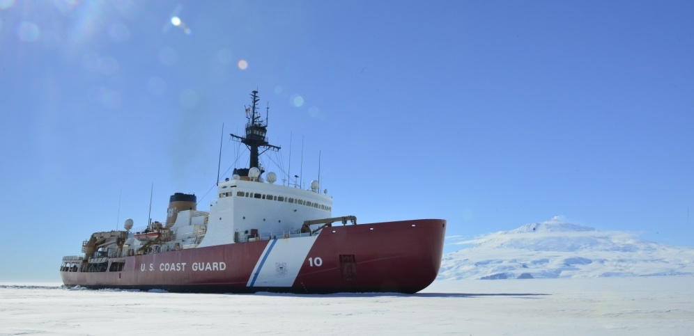 Coast Guard Cutter Polar Star supports Operation Deep Freeze 2018