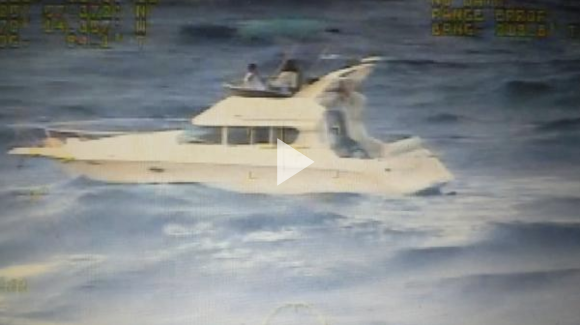 Coast Guard rescues 31 from disabled boat 9 miles north of Bimini