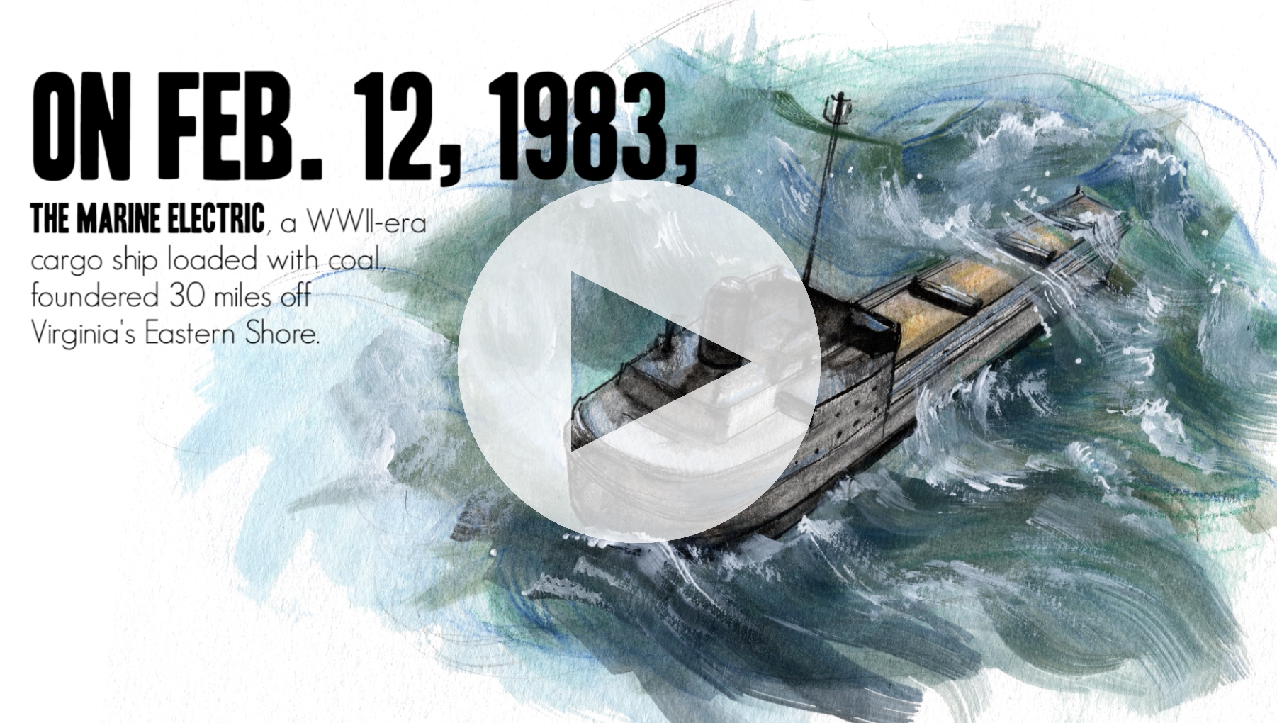 Multimedia Release: The shipwreck that changed the Coast