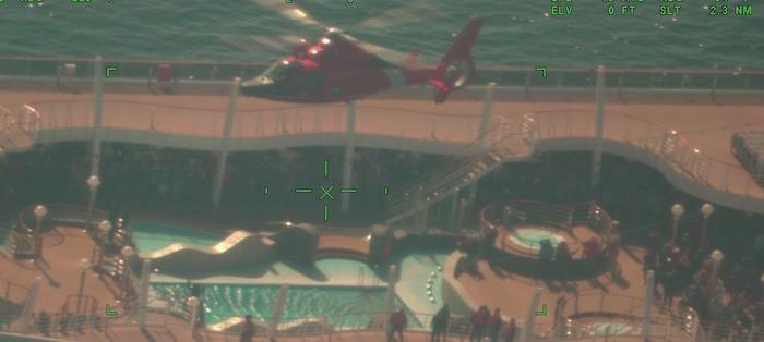 Coast Guard medevacs man from cruise ship off Atlantic City, NJ