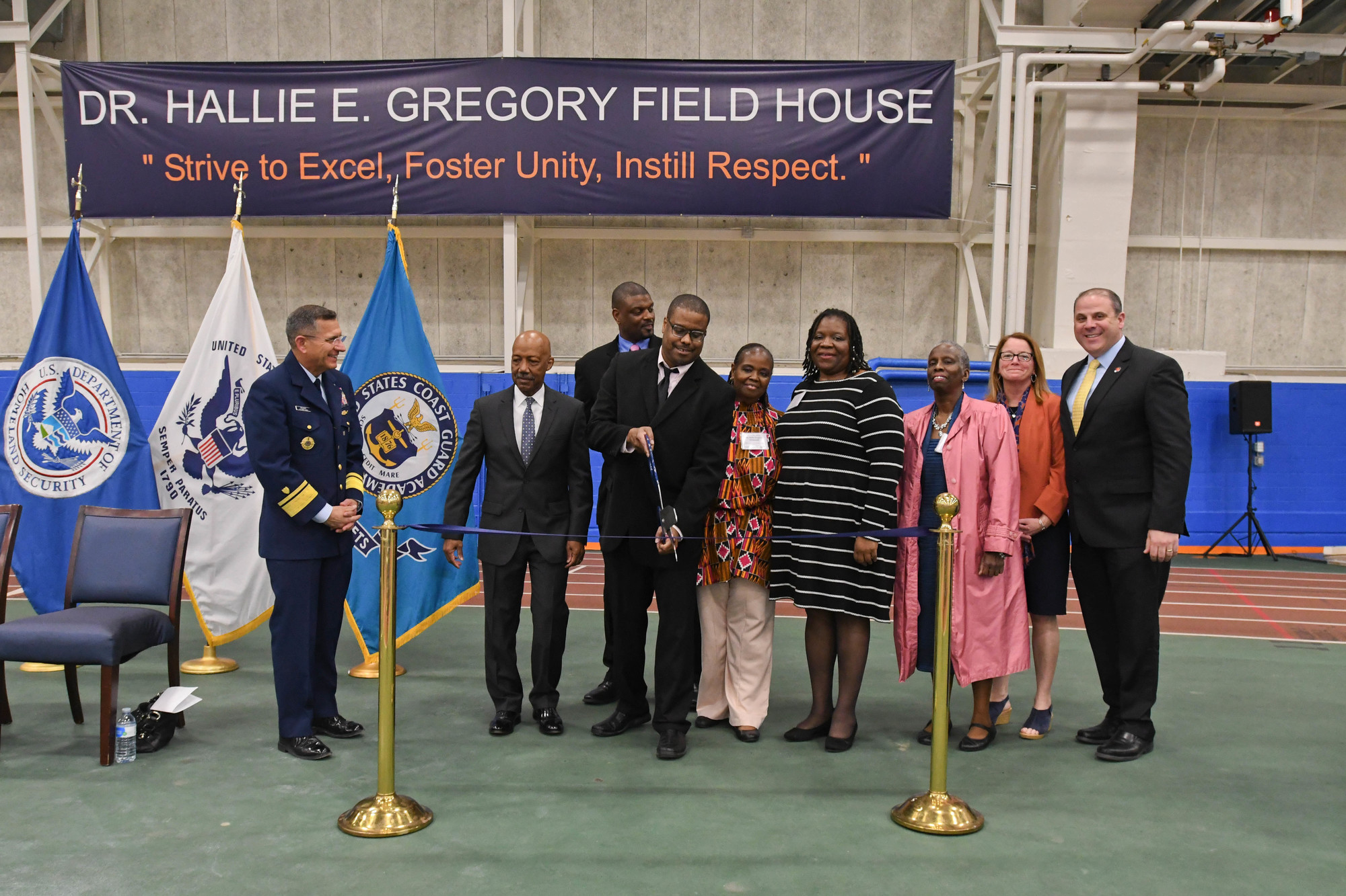 Coast Guard Academy names gym after first African-American head coach