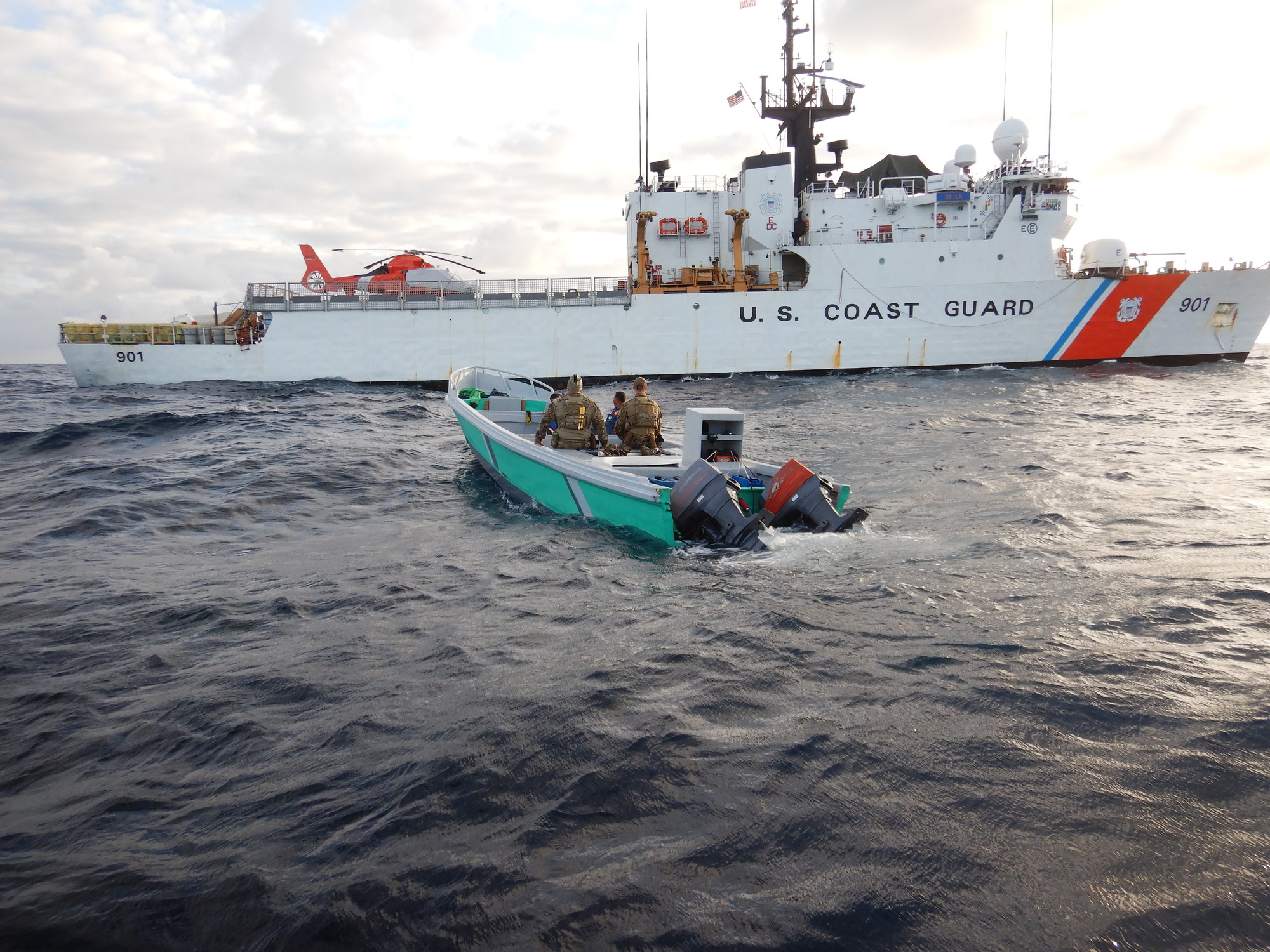 Coast Guard to offload 14,000 pounds of marijuana and 3,660 pounds of cocaine at Port Everglades