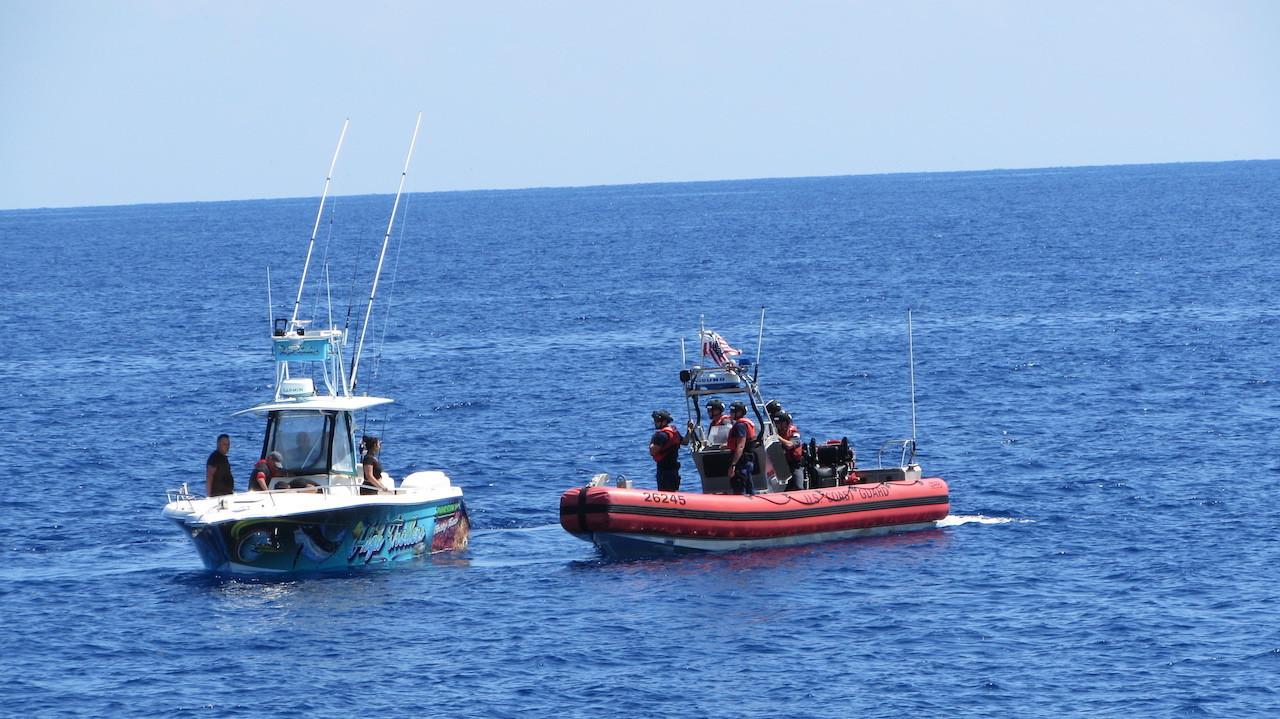 Coast Guard interdicts suspected smuggler, 10 Cuban Migrants 41 miles south of Key West