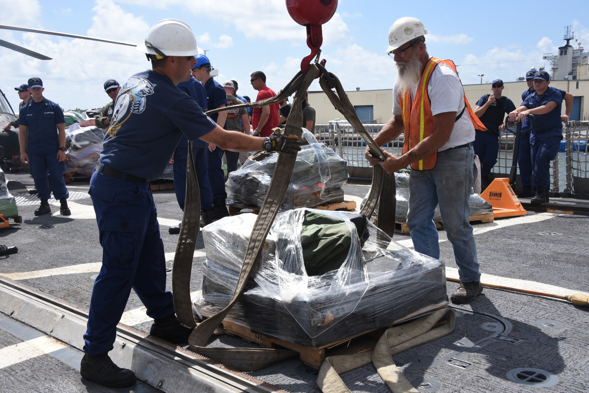 Coast Guard offloaded 14,000 pounds of marijuana and 3,660 pounds of cocaine at Port Everglades