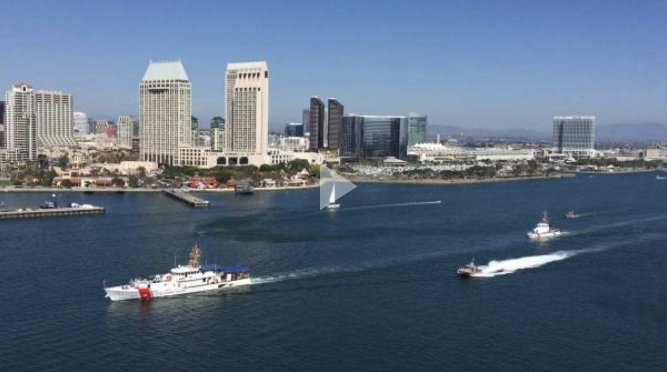 FRC Benjamin Bottoms arrives in San Diego