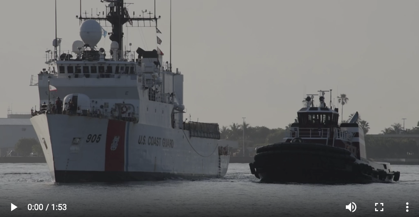 MULTIMEDIA RELEASE: Coast Guard Cutter Spencer crew arrives at Port Everglades for 29th Annual Fleet Week