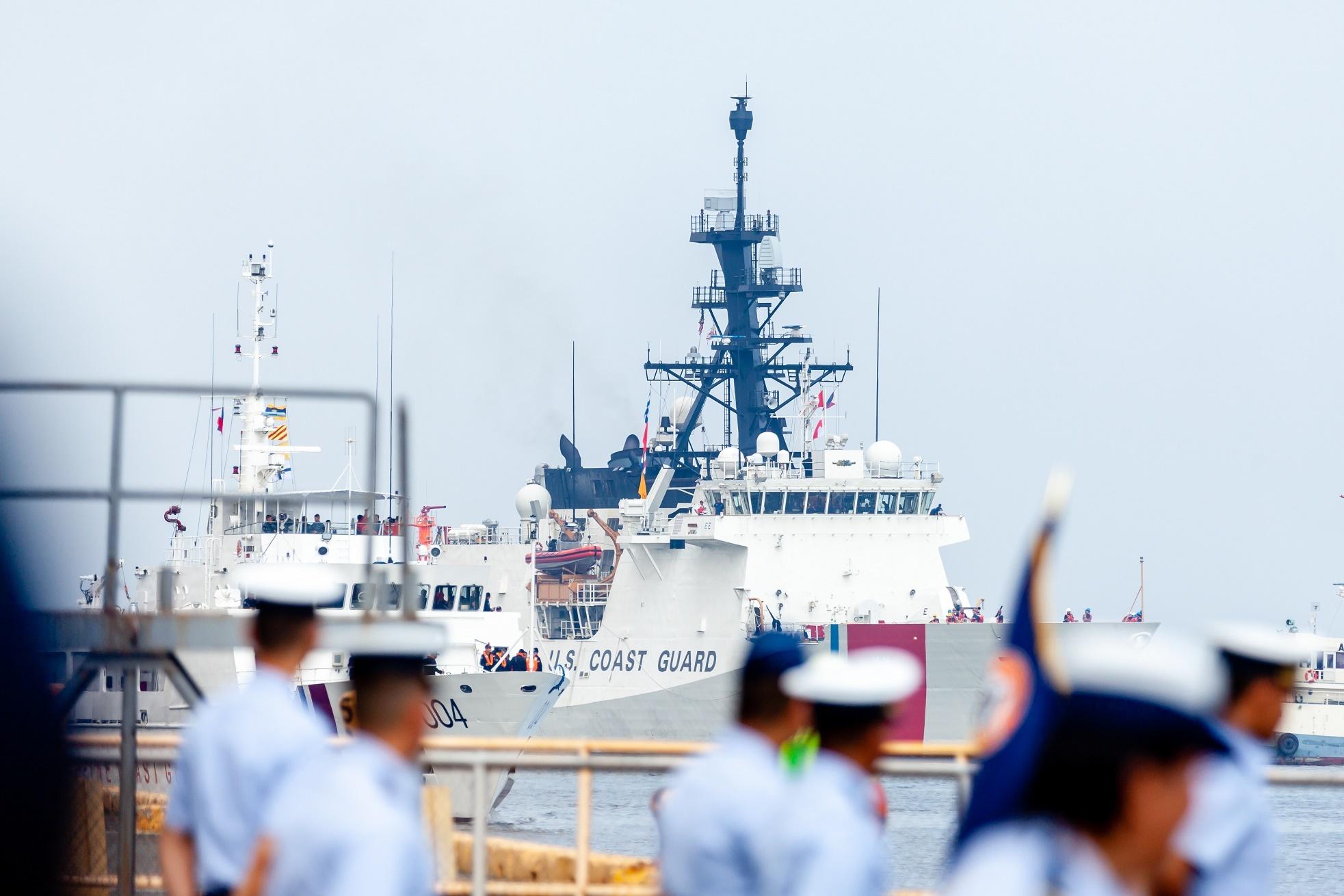 USCGC Bertholf arrives in Manila