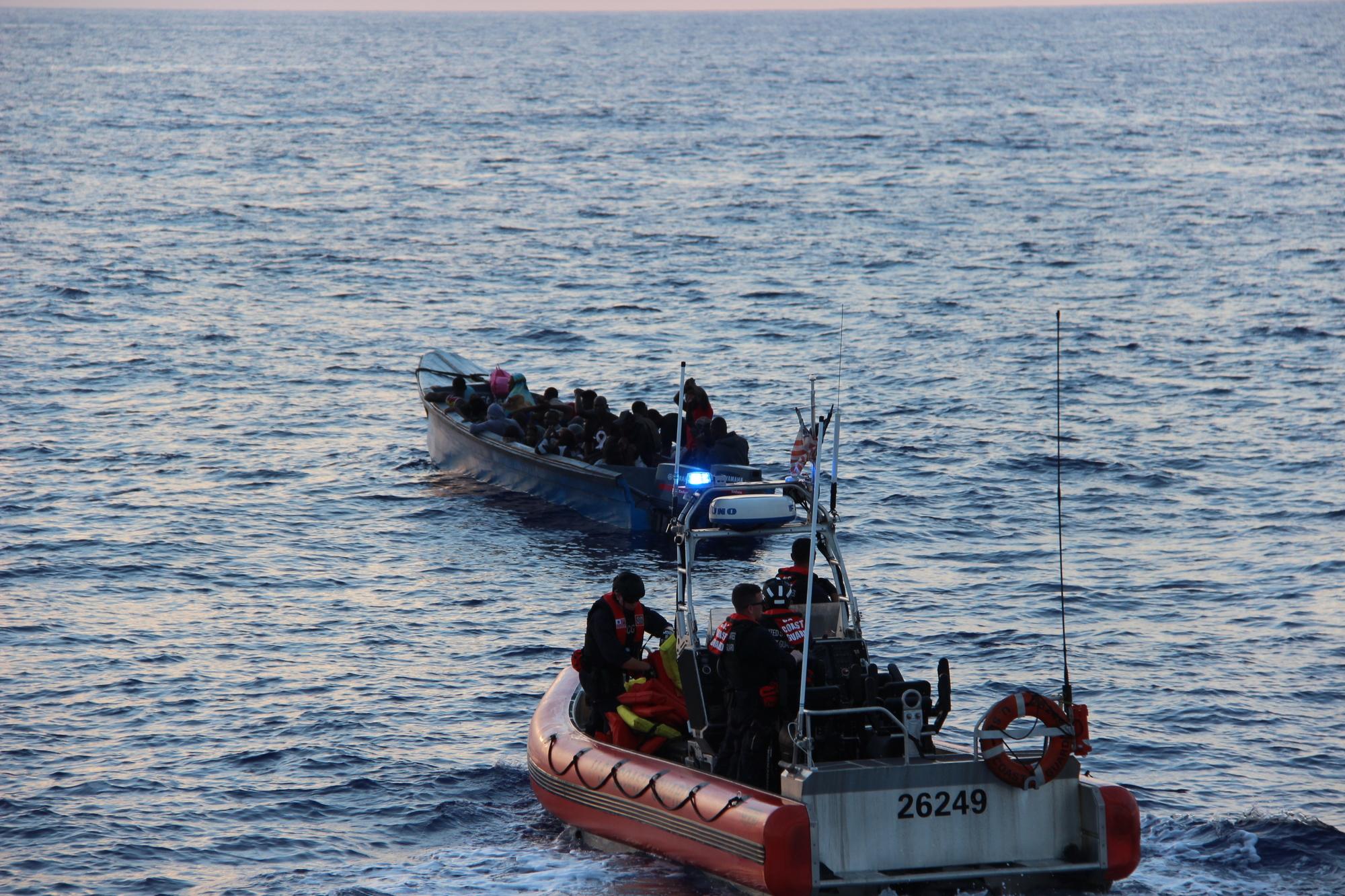 Coast Guard interdicts 50 Haitian migrants 46 miles north of Cap-Haïtien