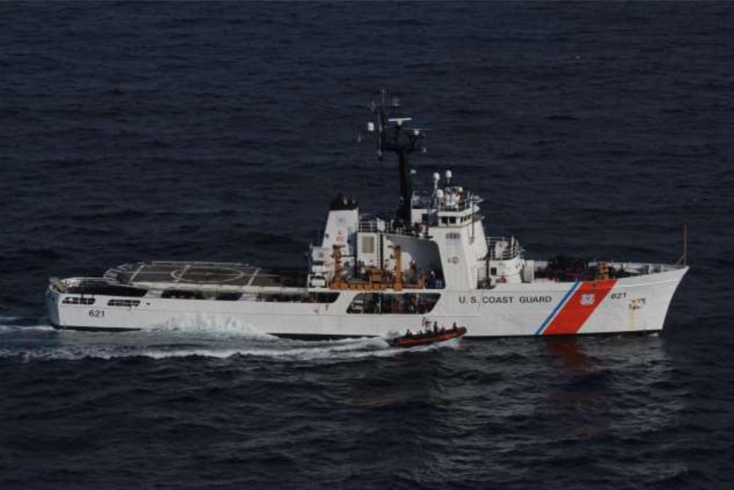 PHOTO RELEASE: Coast Guard Cutter Valiant crew returns home following 9-week counter-drug patrol