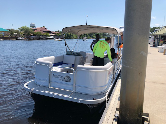 PHOTO RELEASE: Coast Guard issues notice of violation to illegal charter operator in North Myrtle Beach